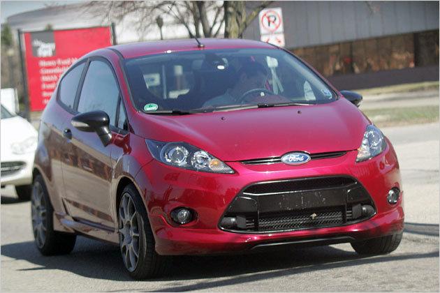 new Fiesta ST